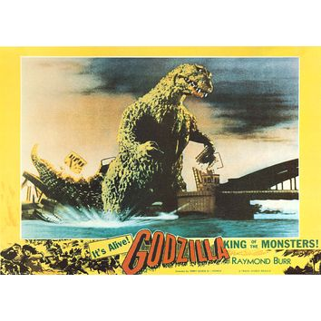 """Poster: Godzilla: King of the Monsters (24""""x33"""")"""