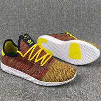 Adidas Pharrell Williams Women/Men Colorful Weave Running Sneaker