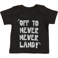 Metallica Boys' Off To Never Childrens T-shirt Black Rockabilia