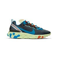 Nike Men's React Element 55 SE Volt Blue Stardust