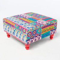Large Fabric Stool | Furniture