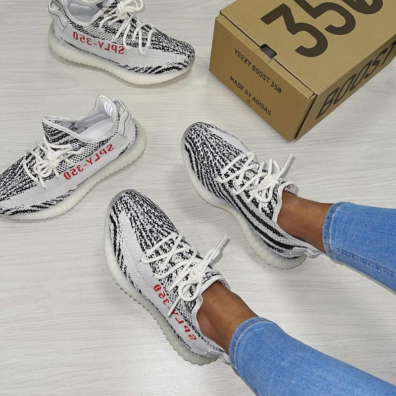 Image of Adidas Yeezy Boost 350 V2 Black grey coconut lovers Black Angel Sports shoes