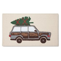 """Threshold™ Holiday Car Accent Rug - Red (1'8""""x2'10"""")"""