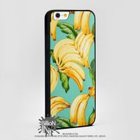 Banana Pattern For Apple, Iphone, Ipod, Samsung Galaxy Case