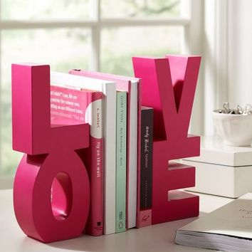 Love Word Bookends