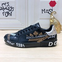 Dolce&Gabbana DG popular Casual Running Sport Shoes Sneakers Slipper Sandals High Heels Shoes