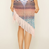 Abstract Print Swim Cover-Up | Forever 21 - 2000153605