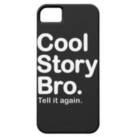 Cool Story Bro. Barely There iPhone 5 Case from Zazzle.com