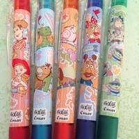 Toy Story FriXion ball knock pens - Tokyo Disney Resort Exclusive