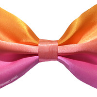 Sunset Ombre Hair Bow