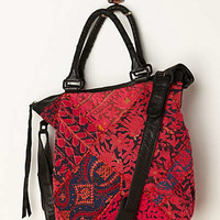 Mairena Embroidered Satchel