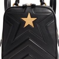 Stella McCartney Small Quilted Faux Leather Convertible Backpack | Nordstrom