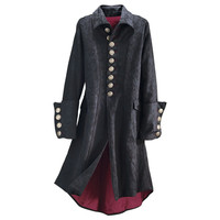 Legacy Brocaded Coat                               - New Age, Spiritual Gifts, Yoga, Wicca, Gothic, Reiki, Celtic, Crystal, Tarot at Pyramid Collection