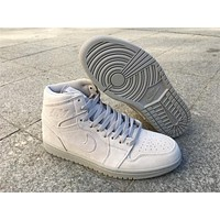 Air Jordan 1 Retro High Grey Suede 332550-031 40-47
