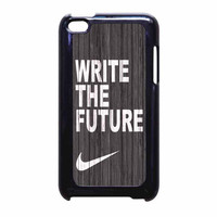 Nike Future On Wood Gray iPod Touch 4th Generation Case