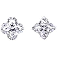 LV new simple personality wild earrings