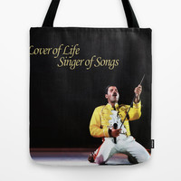 Lover of life. Singer of songs. Tote Bag by Danger Line Clothing