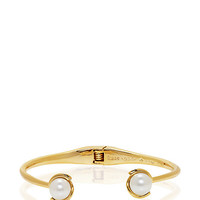 Kate Spade Dainty Sparklers Pearl Cuff Cream ONE