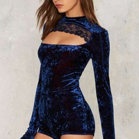 Hot as Hell Hole in One Cut-Out Bodysuit