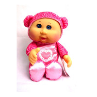 Pink Valentines Day Bear Cabbage Patch Kids Cuties Doll