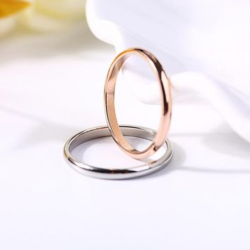 New Arrival Jewelry Gift Couple Shiny Stylish Ring [10985359367]