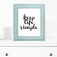 Inspirational Print, Wall Decor, Typography Wall Art, Motivational Print, Inspirational Poster, Teen Gift Ideas, Shabby Chic - PT0042