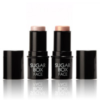 Highlighter stick All Over Shimmer Highlighting Powder Creamy Texture Water-proof Silver Shimmer Light