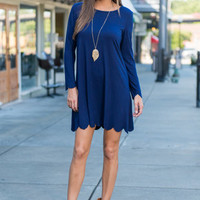 Looking For Lovely Dress, Navy
