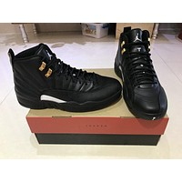 Air Jordan 12 The Master Aj12 Black/gold 130690-013