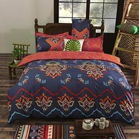 Jordynn Bohemian Moroccan Print 3PC Bedding SET