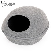 Hoopet Pet bed Spring Summer Round  Cat House Cat home Nest Pet Supply three colors