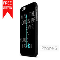 The Hunger Games Quote  NDR iPhone 6 Case
