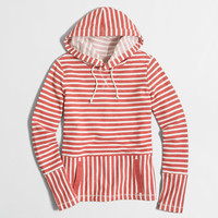 Factory flip-striped sweatshirt