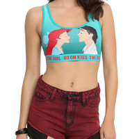 Disney The Little Mermaid Kiss The Girl Sports Bra