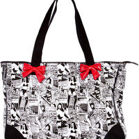 Bettie Page Collage Tote