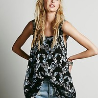 Intimately Womens Printed Outlined Hi Low Cami
