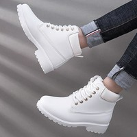 Shoes Woman chaussures femme 2018 Winter Boots Women Casual Shoes Tooling Ankle Snow Boots Plush Warm Women Shoes botas mujer