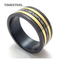 Titanium Rings Greek Keyl Ring 8mm Wide US Size 8-13 Fashion Men's Jewelry Free Shipping