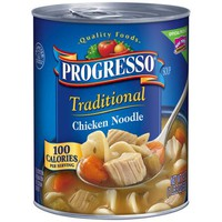 Progresso Traditional Chicken Noodle Soup, 19 oz - Walmart.com