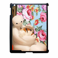 Big Hero 6 Baymax Floral Disney iPad 2 Case