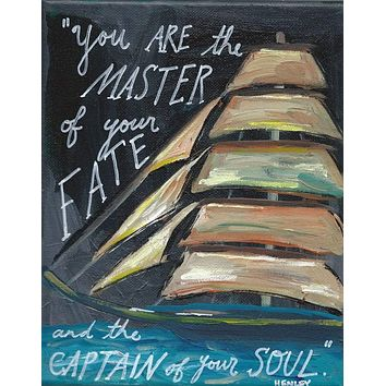 Captain of Your Soul Greeting Card