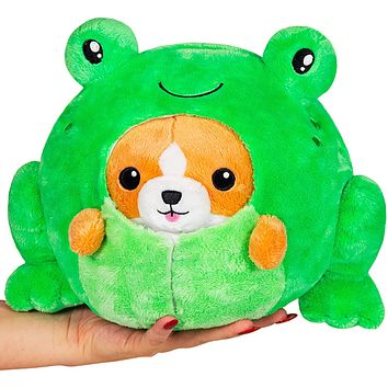 Squishable Undercover Corgi in Frog 7""
