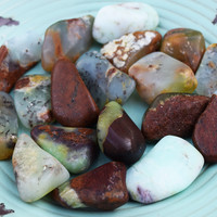 CHRYSOPRASE Heart Healing Stone - Open Heart Chakra, Let Go of Regret, Pain & Disappointment