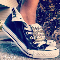 Studded Converse Shoes