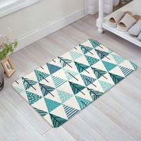 Autumn Fall welcome door mat doormat Floor Bath Mat Welcome  Large Small Inside Outside Front  Carpet Floor Rug - Abstract Geometry AT_76_7