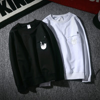Cotton Round-neck Winter Hoodies [9231074055]