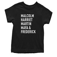 Malcolm Harriet Martin Maya And Frederick Youth T-shirt