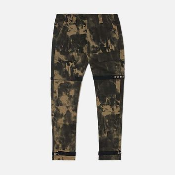 Strapped Up Marble Fatigue Pants