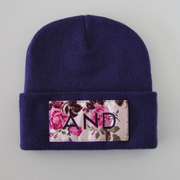 And Clothing Floral Beanies | SWGNT