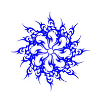 Tribal Flame Decal Tattoo Decal Car Decal Custom Vinyl Decal Computer Laptop auto decal vehicle window decal custom sticker Decal